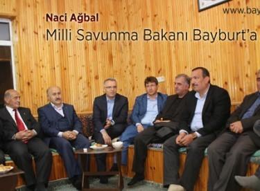 Milli Savunma Bakanı Bayburt'a geliyor