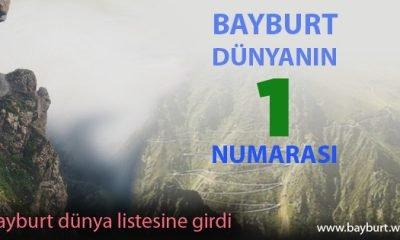 Bayburt, Dünyanın 1 Numarası