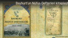 Bayburt'un Nüfus Defterleri kitaplaştı