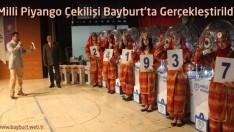 Milli Piyango Çekilişi Bayburt'ta Gerçekleştirildi