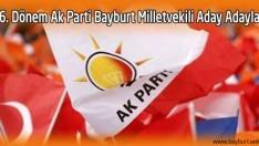 İşte, 26. Dönem Ak Parti Bayburt Milletvekili Aday Adayları