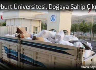 Bayburt Üniversitesi, Doğaya Sahip Çıkıyor