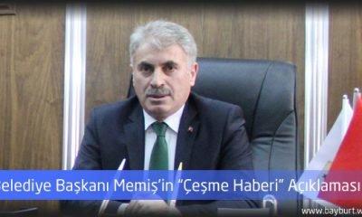 """Belediye Başkanı Memiş'in """"Çeşme Haberi"""" Açıklaması"""