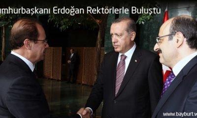 Cumhurbaşkanı Erdoğan Rektörlerle Buluştu
