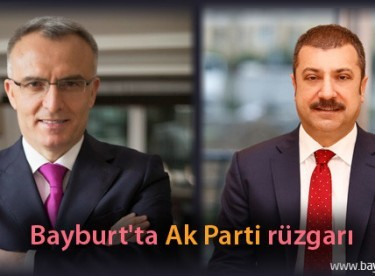 Bayburt'ta Ak Parti rüzgarı
