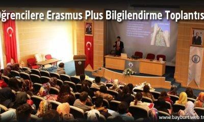 Öğrencilere Erasmus Plus Bilgilendirme Toplantısı
