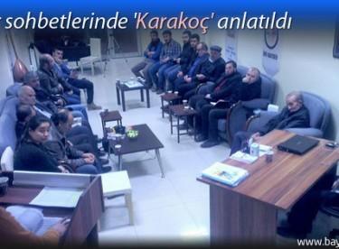 Kültür sohbetlerinde 'Karakoç' anlatıldı