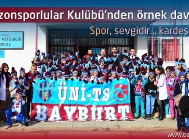 Trabzonsporlular Kulübü'nden örnek davranış