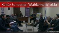 """Bayder Kültür Sohbetleri """"Mahkemelik"""" oldu"""