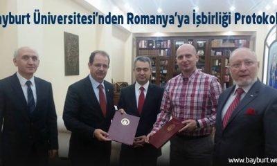 Bayburt Üniversitesi'nden Romanya'ya İşbirliği Protokolü