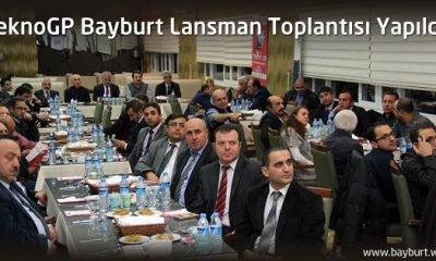 TeknoGP Bayburt Lansman Toplantısı Yapıldı