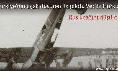 Türkiye'nin uçak düşüren ilk pilotu Vecihi Hürkuş