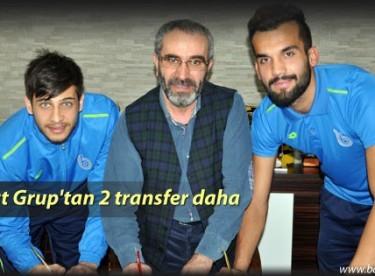 Bayburt Grup'tan 2 transfer daha