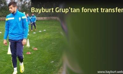 Bayburt Grup'tan forvet transferi