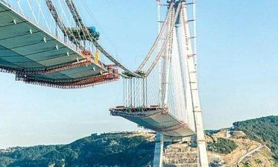 3. Boğaz Köprüsü'de son 247 metre !