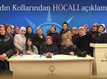 Ak Parti Kadın Kollarından Hocalı Katliamı basın bildirisi