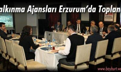 Kalkınma Ajansları Erzurum'da Toplandı