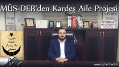 MÜS-DER'den Kardeş Aile Projesi