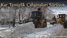 Kar Temizlik Çalışmaları Sürüyor