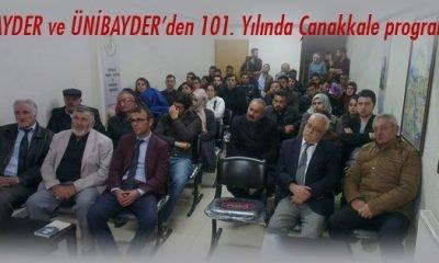 BAYDER ve ÜNİBAYDER'den 101. Yılında Çanakkale programı