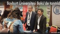 Bayburt Üniversitesi Bakü'de tanıtıldı