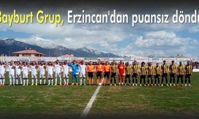 Bayburt Grup, Erzincan'dan puansız döndü