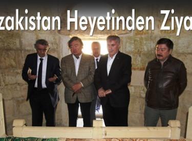 Kazakistan Heyetinden Ziyaret