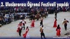 2. Uluslararası Öğrenci Festivali yapıldı