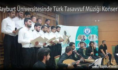 Bayburt Üniversitesinde Türk Tasavvuf Müziği Konseri