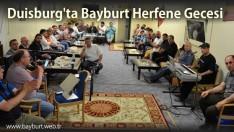 Duisburg'ta Bayburt Herfene Gecesi