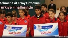 Mehmet Akif Ersoy Ortaokulu Türkiye Finallerinde