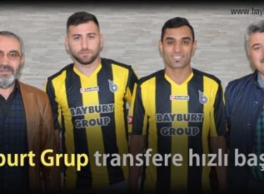 Bayburt Grup Özel İdare Spor, transfere hızlı başladı