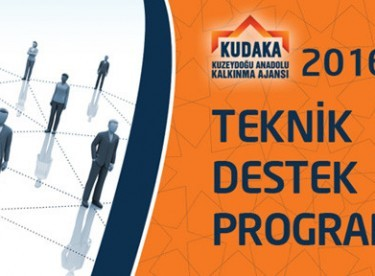 2016 Yılı Teknik Destek Programı Açıklandı