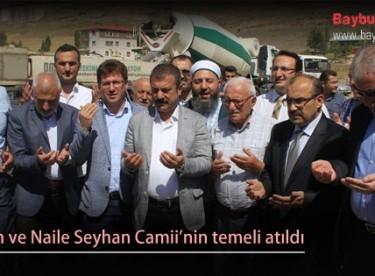 Ekrem ve Naile Seyhan Camii'nin temeli atıldı