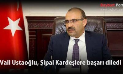 Vali Ustaoğlu, Şipal Kardeşlere başarı diledi