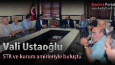 Vali Ustaoğlu, STK temsilcileri ve kurum amirleriyle buluştu