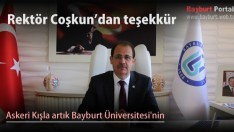 Askeri Kışla artık Bayburt Üniversitesi'nin