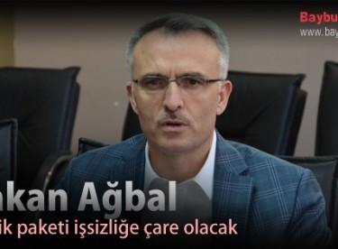 Bakan Ağbal, Teşvik paketi işsizliğe çare olacak