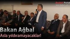 Maliye Bakanı Ağbal, Asla yıldıramayacaklar