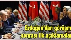 Erdoğan-Obama görüşmesi sonrasında ilk açıklama!