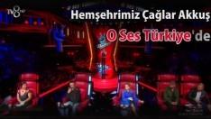 Hemşehrimiz Çağlar Akkuş, O Ses Türkiye'de