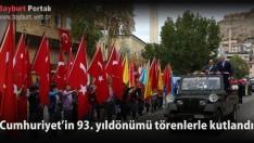 Cumhuriyet'in 93. yıldönümü törenlerle kutlandı