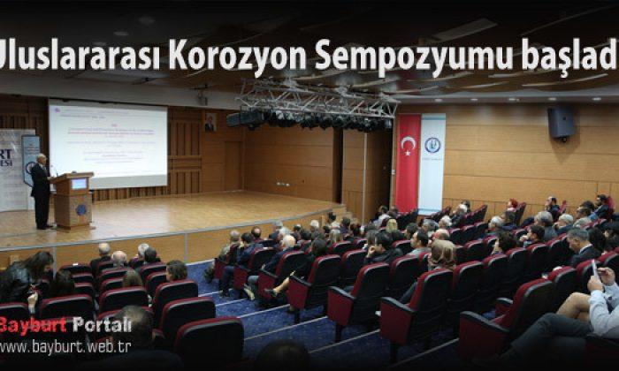 Uluslararası Korozyon Sempozyumu başladı