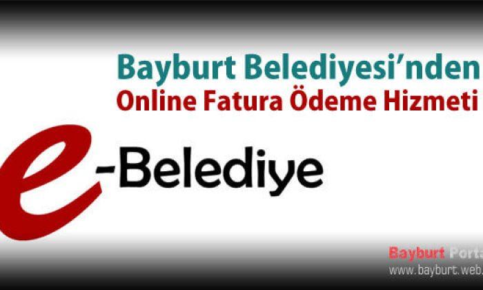 Belediyeden Online Fatura Ödeme Hizmeti