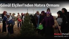 Gönül Elçileri'nden 15 Temmuz Şehitleri'ne Hatıra Ormanı