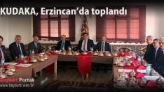 KUDAKA 81.Yönetim Kurulu Toplantısı Erzincan'da Yapıldı