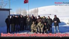 Esnaftan Askerimize ve Polisimize Moral Ziyareti
