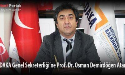 KUDAKA Genel Sekreterliği'ne Osman Demirdöğen Atandı