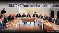 KUDAKA Yönetim Kurulu Toplandı