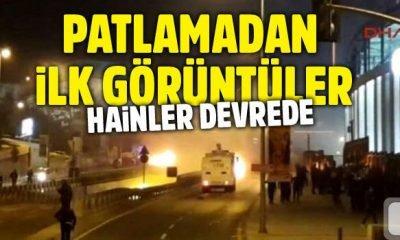 SON DAKİKA: İstanbul Beşiktaş'ta patlama! İlk açıklama yapıldı